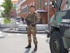 L'Esercito nelle strade? Noi investiamo nelle forze dell'ordine