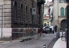 Varco elettronico in Vicolo San Silvestro