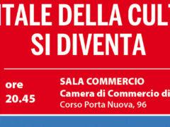 Capitale della Cultura si diventa Incontro con le città di Mantova e Parma, già vincitrici del bando Giovedì 31 maggio ore 20.45 Sala Commercio della Camera di Commercio di Verona