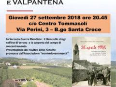 Il campo di concentramento tra Valsquaranto e Valpantena – Serata di approfondimento