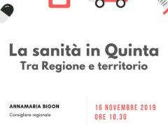 La sanità in Quinta, tra Regione e territorio
