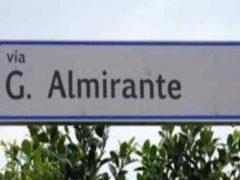 Via Almirante: il Sindaco ascolti gli appelli dei cittadini e faccia un passo indietro