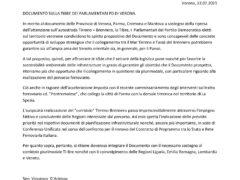 Il Tibre sia corridoio plurimodale: il contributo del Pd veronese all'appello delle quattro Province